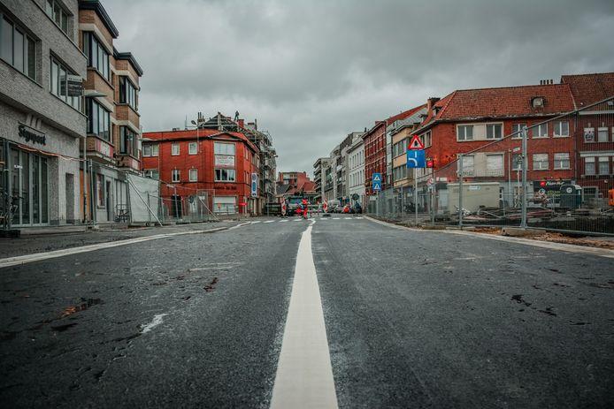 Het nieuwe stuk Magdalenastraat