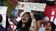 Inwoners Guatemala eisen ontslag president