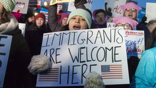 Zeker vier Amerikaanse staten dienen klacht in tegen Trumps inreisverbod