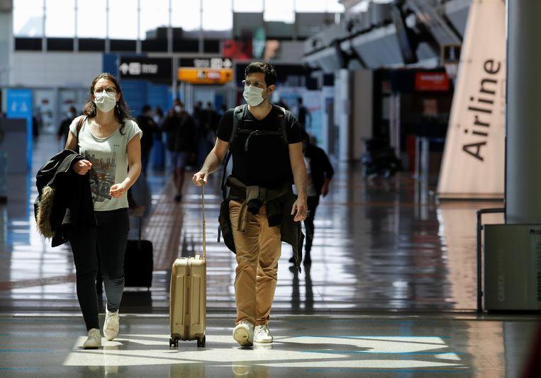 Nu de vaccinatiegraad snel stijgt, wil de EU vakantiegangers van 'buiten' weer welkom heten. Beeld REUTERS