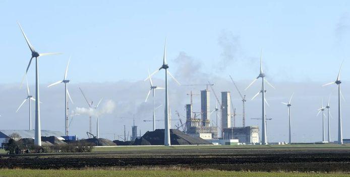 Door de opkomst van (Duitse) windenergie staan steeds meer elektriciteitcentrales stil. Dat kost energiebedrijven handenvol geld. foto ANP