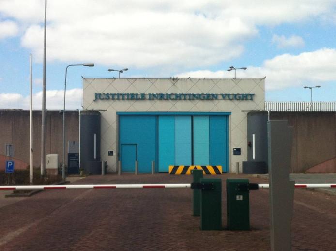 De gevangenis in Vught.