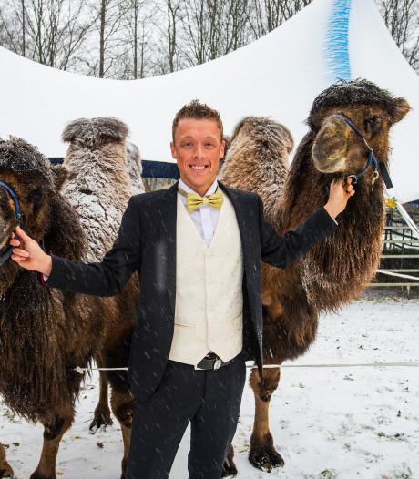 Groot circus met Siberische kamelen komt volgende week naar Alphen