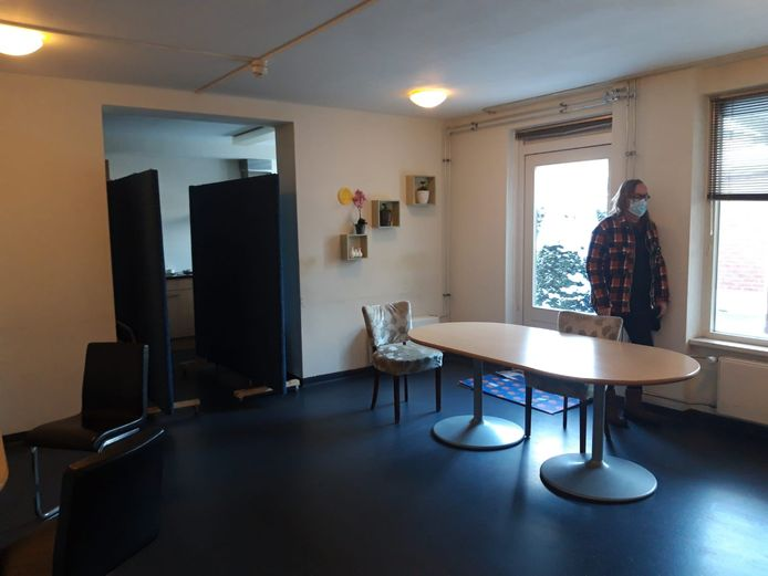 De daklozenopvang van RIBW in Tiel.