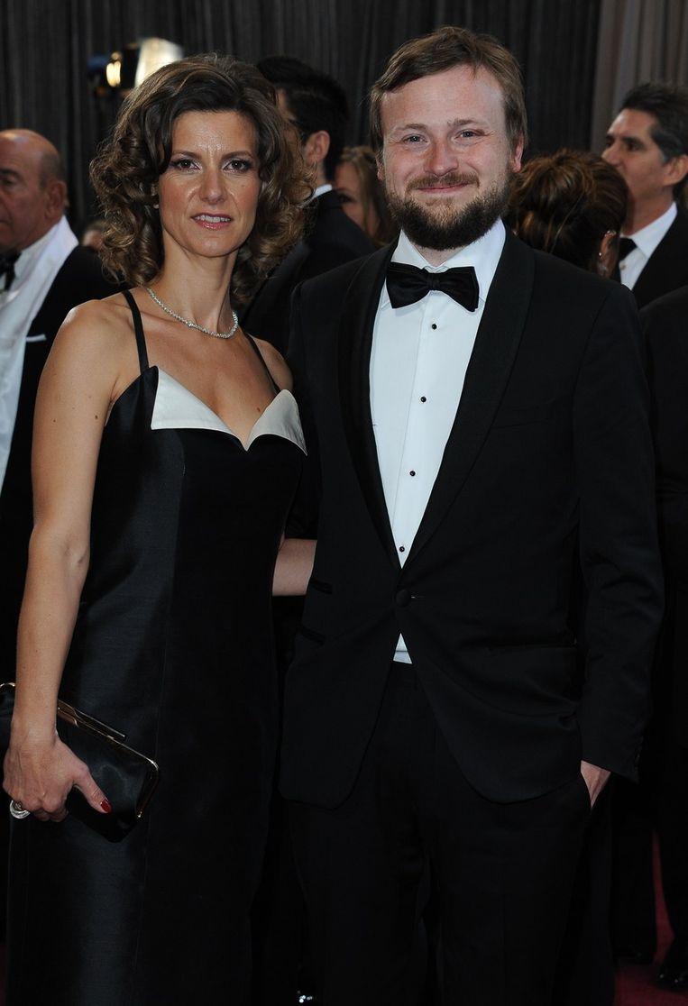Ellen De Waele en Tom Van Avermaet Beeld BELGA