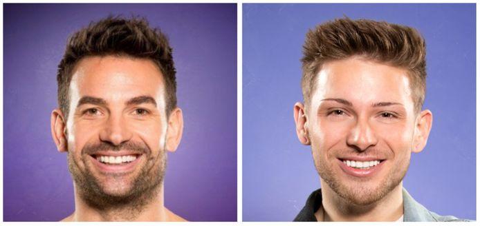 Big Brother - Michel en Jerrel ruziën erop los.