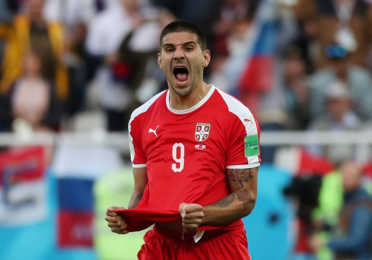 Mitrovic zorgde al snel voor de 1-0. Beeld REUTERS