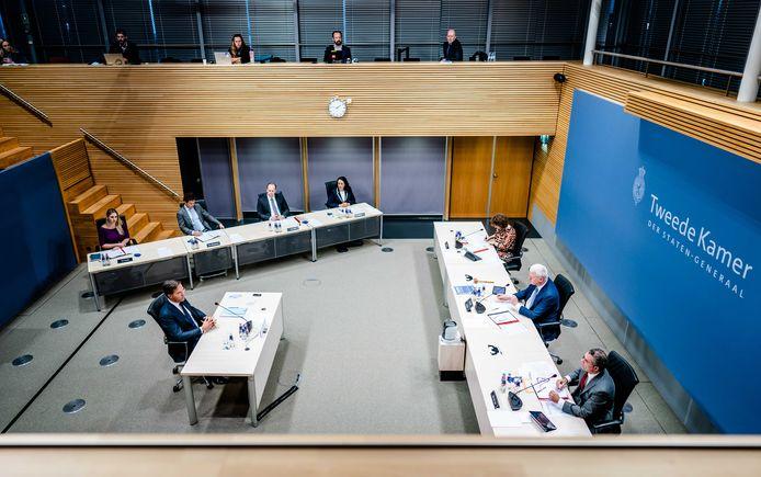 Ook premier Mark Rutte werd gehoord door de parlementaire ondervragingscommissie Kinderopvangtoeslag, die onderzocht hoe ouders onterecht als fraudeurs bestempeld konden worden.
