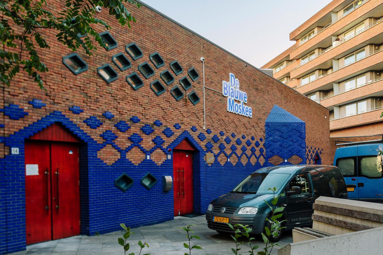 De Blauwe Moskee aan de Henri Durantstraat in Amsterdam West. Beeld Marc Driessen