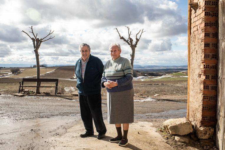 Jesús Campos García (79) en Maria Luisa Agustín Alegre. Beeld RV