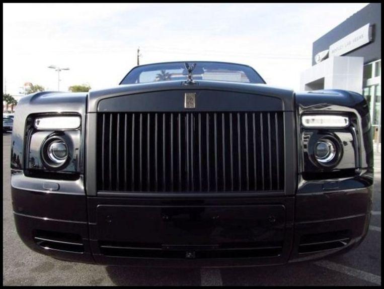 Uit het wagenpark van David Beckham: de Rolls Royce.