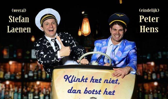 Stefan Laenen en Peter Hens komen voor de allereerste keer met een eindejaarsconference in Herenthout