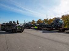 Pantservoertuigen in Steenwijk op trein gezet naar Noorwegen