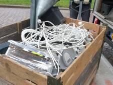 Geruimde hennepkwekerij aangetroffen in Hengelo