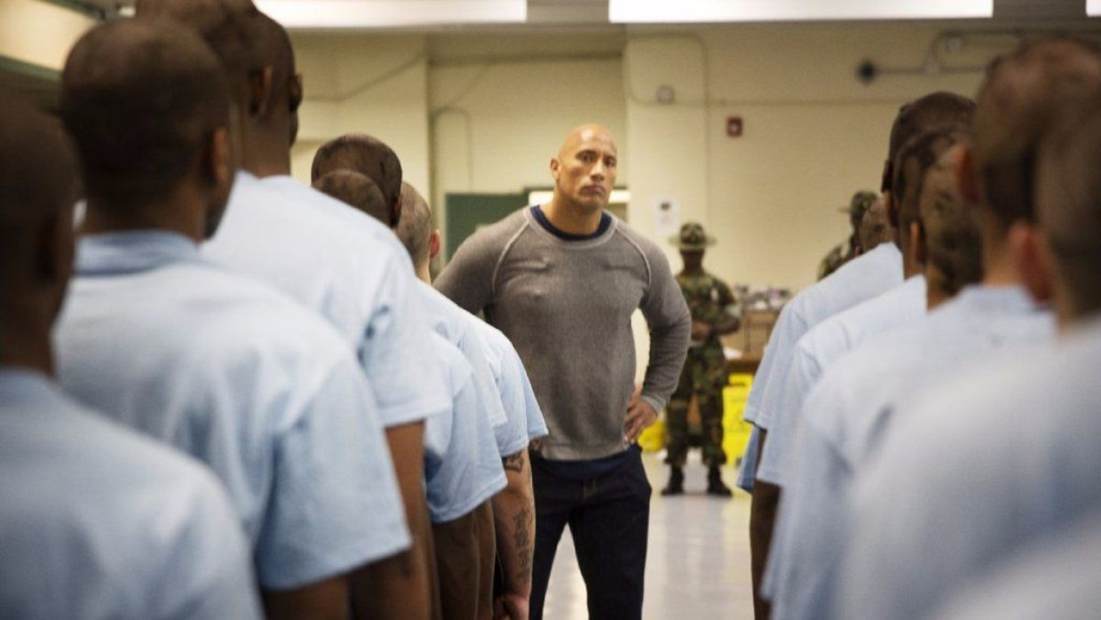 'Rock and a Hard Place' met Dwayne Johnson. Beeld HBO