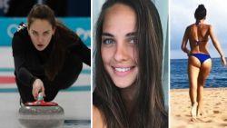 Curling plots populaire wintersport met  dank aan Anastasia, Russisch internetfenomeen dat ook brons behaalt