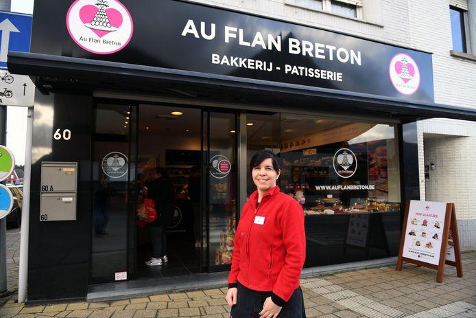 Els van bakkerij Au Flan Breton in Keerbergen.