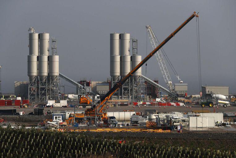 Groot-Brittannië stelde de beslissing uit over Chinese betrokkenheid bij de nog te voltooien kernreactor Hinkley Point C. Beeld REUTERS