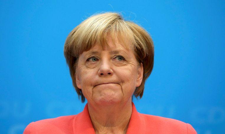 Angela Merkel. Beeld REUTERS