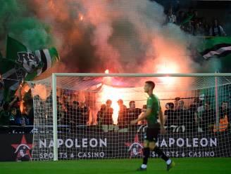 """Cercle-supporter (19) veroordeeld omdat hij tijdens derby vlag van Club Brugge in brand steekt: """"Levensgevaarlijk in vak met 1.200 supporters"""""""