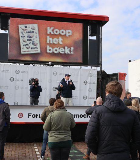Circus Baudet duikt op in Helmond en Eindhoven, honderden mensen op twee campagnebijeenkomsten