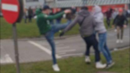 VIDEO. Grote vechtpartij tijdens carmeeting op parking A12