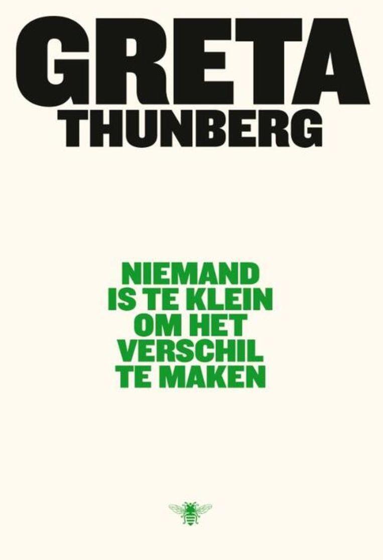 Greta Thunberg, 'Niemand is te klein om het verschil te maken', De Bezige Bij  Beeld Humo