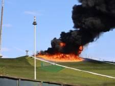 Flinke brand in skiclub Uden waarschijnlijk aangestoken: 'Wij schatten de schade op zo'n 300.000 euro'