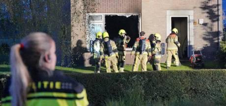 Politie over brand in te koop staande woning Puiflijk: 'Inbraakschade en sporen van brandstichting'
