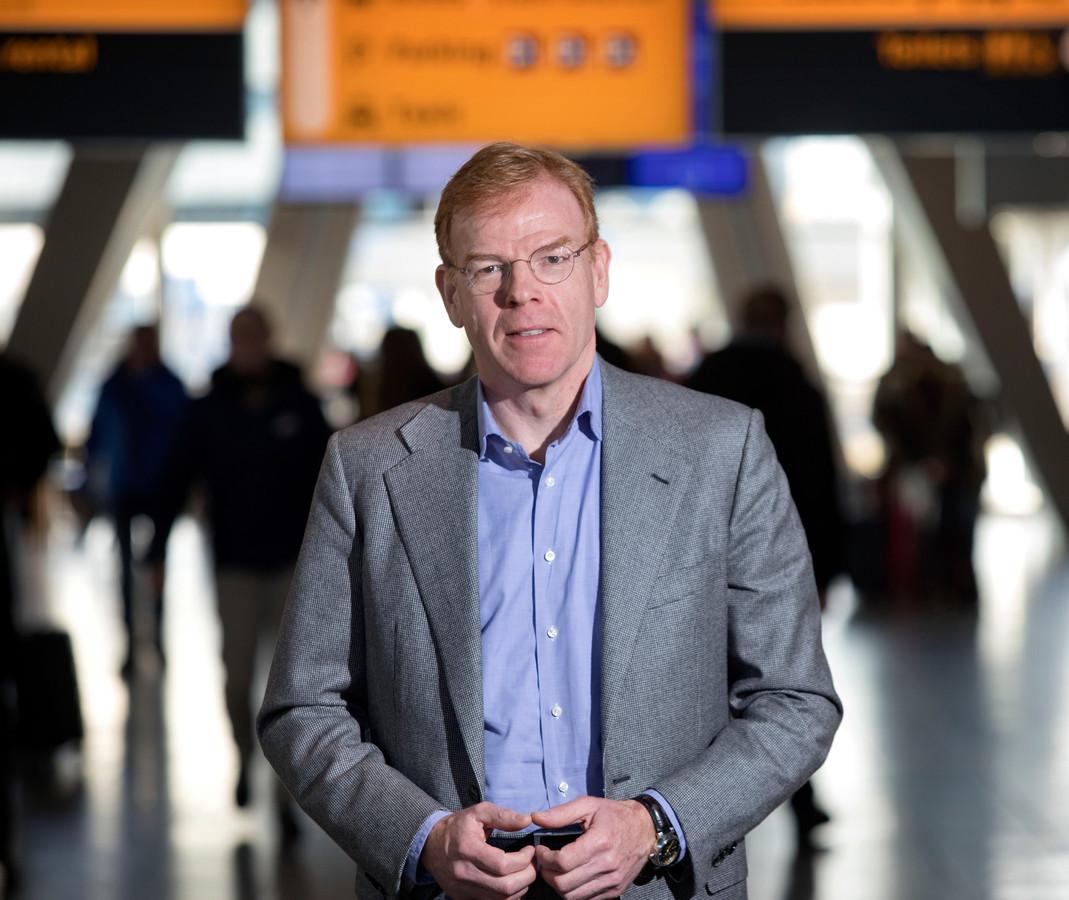 Joost Meijs, directeur van Eindhoven Airport.