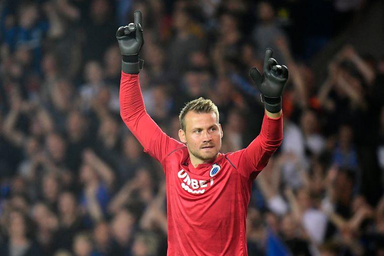 Club telde 7 miljoen euro neer voor Simon Mignolet. Beeld Photo News