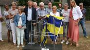 Wijkcomité Haezeldonck onthult kunstwerk ter ere van veertigjarig bestaan
