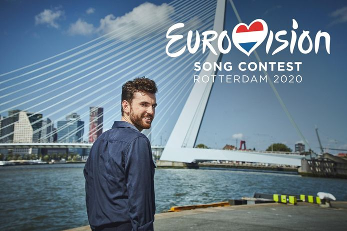 Songfestivalwinnaar Duncan Laurence kondigde zojuist in een filmpje aan dat Rotterdam de gaststad wordt van 2020.