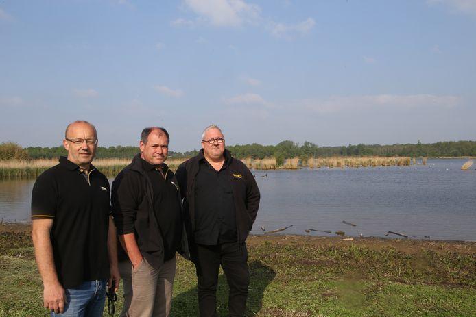 Michel Herremans, Danny Vanpassel en Lode Everaerts aan Het Vinne.