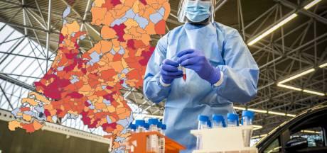 Aantal coronabesmettingen stijgt hard in Ede, ook piek in Wageningen door uitbraak onder studenten