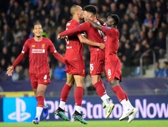 Klasseverschil te groot: moedig Genk ten onder tegen Champions League-winnaar Liverpool