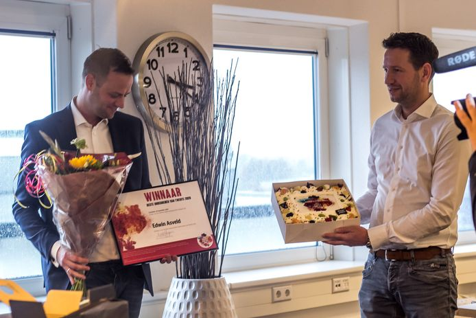 Asveld is verkozen tot beste ondernemer van Twente