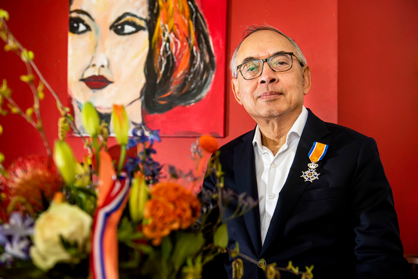 Juan Seleky is als enige Bredanaar dit jaar tot ridder geslagen. Hij is onder meer voorzitter van de (landelijke) stichting Molukse ouderen.