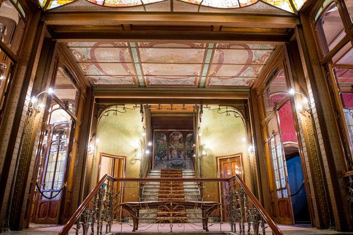 Het Solvayhuis werd ontworpen door Victor Horta.
