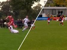 #HéScheids: fraaie assist van HAK-im Ezafzafi, zaag van de week bij derby tussen Daarle en Daarlerveen