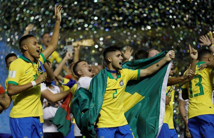 Feest bij de Brazilianen