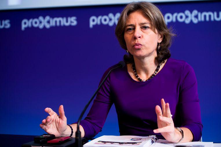 Dominique Leroy, topvrouw van Proximus.