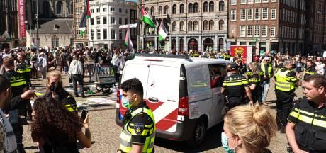 Twee aangehouden betogers bij pro-Palestinademonstratie weer op vrije voeten
