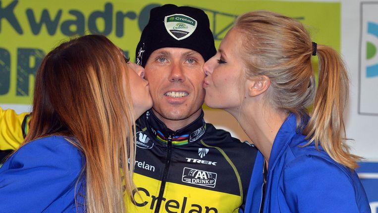 Sven Nys is nog altijd leider in de BB-trofee, maar kan de zeges voorlopig op één hand tellen. Beeld BELGA