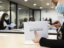 Hoge opkomst briefstemmers in Oost-Nederland: nieuwe procedure redt honderden 'foute' stemmen