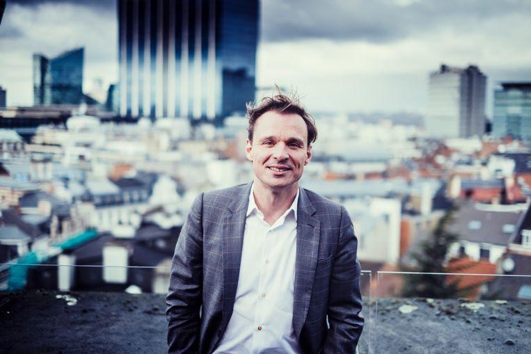 Bruno Vanobbergen: pedagoog, Vlaams kinderrechtencommissaris en straks directeur van het Vlaams Agentschap Opgroeien. Beeld Stefaan Temmerman