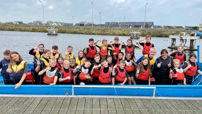 """Vijfde- en zesdeklassers 't Sprinkhaantje op openluchtklassen naar de kust: """"Hoogtepunt van schooljaar"""""""
