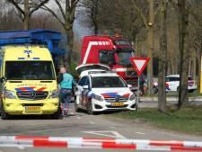Brommerrijder met spoed naar ziekenhuis na ongeval in Markelo; traumahelikopter geannuleerd