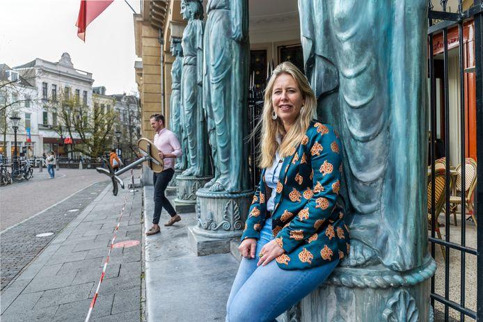 Maryse Francois, eigenaar van de Winkel van Sinkel: 'Ik ben zeer benieuwd naar de precieze spelregels voor de terrassen.'