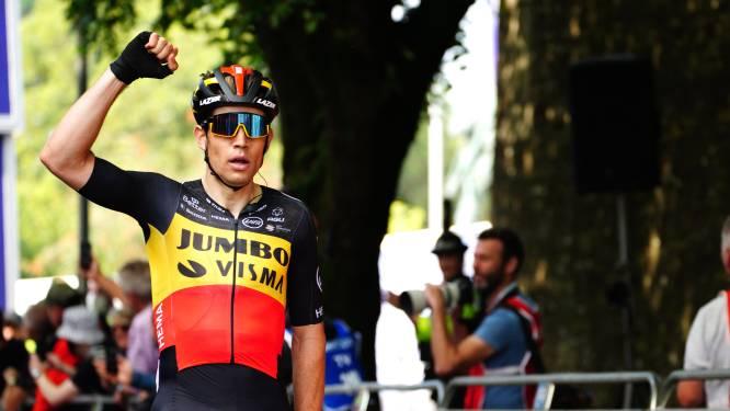 Tour de Grande-Bretagne: Wout van Aert s'adjuge la 6e étape, sa troisième victoire de la semaine